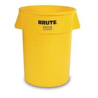 FG265500 AMARILLO  BASURERO BRUTE RED.208LT