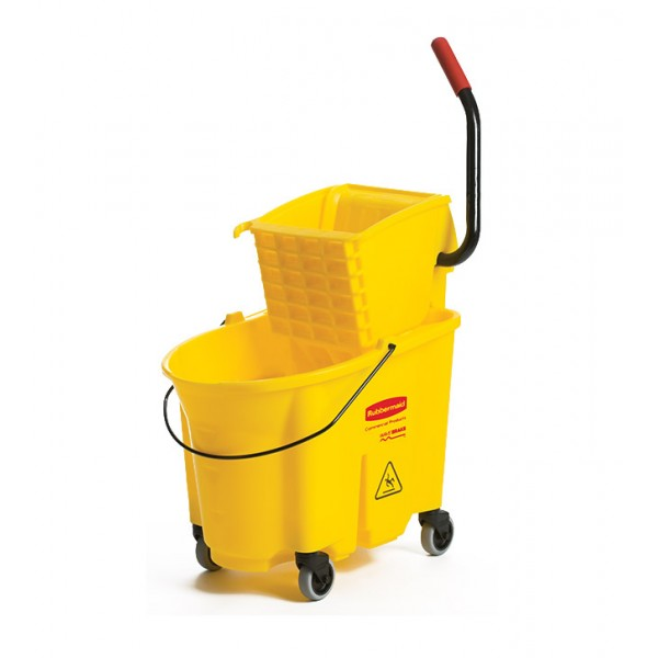 FG758088 AMARILLO CARRO ESTRUJADOR RUBBERMAID 33LT